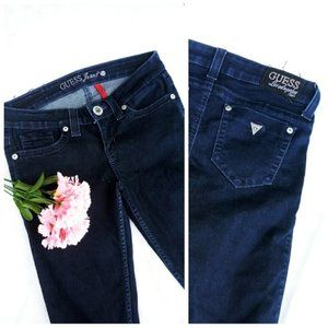 Guess womans size 27 skinny low rise jeans